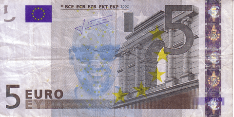 Euro banknotes activation code